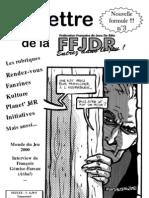 La Lettre de la FFJdR n.3 (nouvelle formule) - octobre 2000