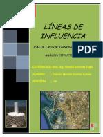 Trabajo de Analisis Lineas de Influencia FINAL
