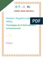 Ensayo_Odilón Sosa Sánchez
