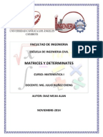 Monografia Matrices y Determinantes