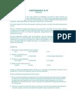 cuestionario 16fp
