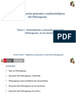 Cap ANTECEDENTES Y SITUACION ACTUAL DEL CHIKUNGUNYA i Tema i Antecedentes y Situacion Actual Del Chikungunya
