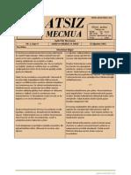 Atsız Mecmua - Sayı 4