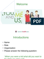 You, Me and Us professional development training presentation
