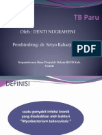 Presentasi Komdik TB PARU