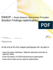RANOP Part4 Solution Findings