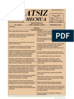 Atsız Mecmua - Sayı 9