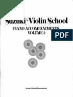 suzuki violin metodo