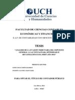 Tesis - Evasion Del Igv Ix Ciclo Profesor