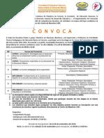 Convocatoria 2014-2015 Primera Etapa