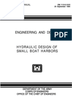 Hydraulic Design of Small Boat Harbors