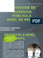 Proyecto a Nivel Perfil