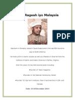 Said Rageah Iyo Malaysia
