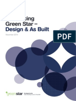 Green Star - Design & As Built