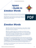 The Compass DeRose Guide to Emotion Words