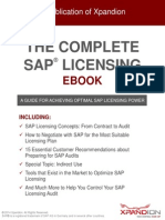 SAP Licensing eBook by Xpandion