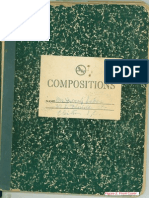 Bessie's Composition Book