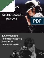 Psychological Purposes