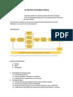 Metodología General Del Plan Estratégico Urbano