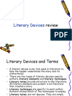 Literary Device Review