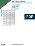 Catalogo de difusores serie 5000