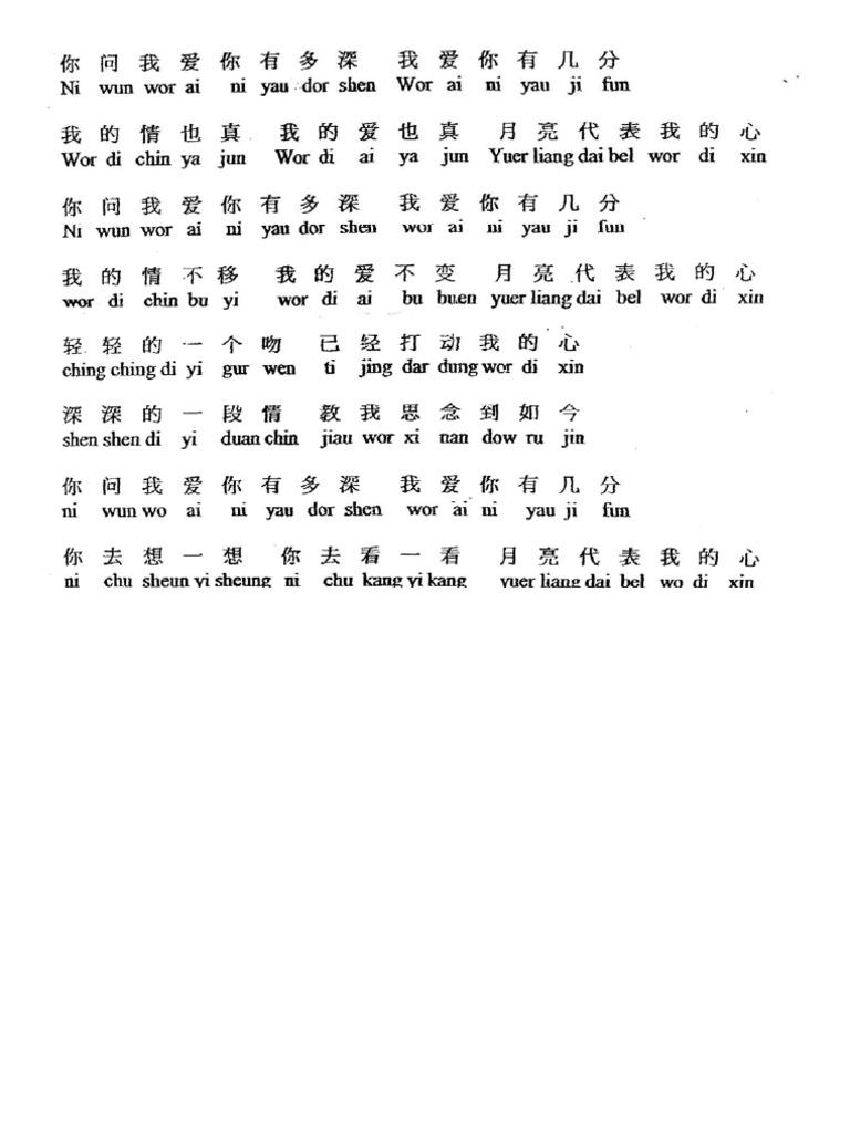 Tong hua guitar chords images guitar chords examples someday by nina guitar chords choice image guitar chords examples the moon represents my heart sheet hexwebz Image collections