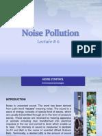 Lec#06 EnvE - Noise Pollution