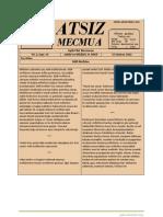 Atsız Mecmua - Sayı 14
