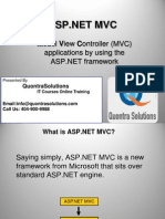ASP.NET MVC4 Applications Presented by QuontraSolutions                                 QuontraSolutions