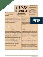 Atsız Mecmua - Sayı 15