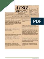 Atsız Mecmua - Sayı 16