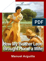 How My Brother Leon Brought Home a Wife by Manuel E. Arguilla
