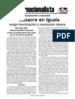 141008 Masacre en Iguala Volante