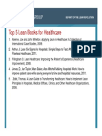 Top 5 Lean Books for Healthcare