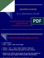 Sejarah Hukum (S2).ppt