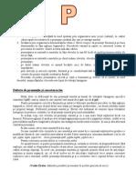 Litera P - Corectare
