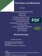 Techniken und Methoden