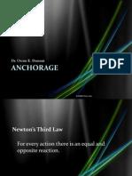 Anchorage slides