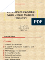 quasi-uniform framework