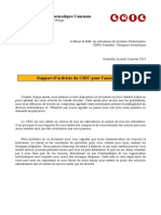 Rapport Cric 2012