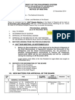 1303rd BOR Meeting Provisional Agenda