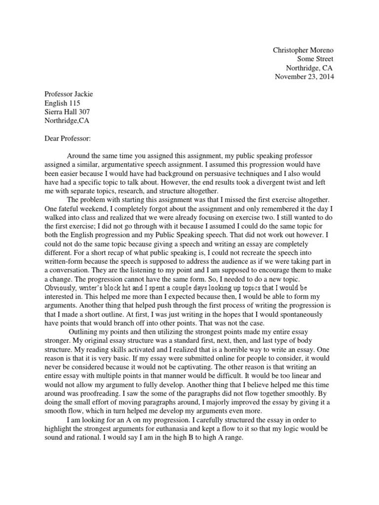 Discovery essay in invention rhetoric