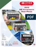 2338 ROVER Pricelist 2012