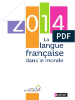 767 Millions de francophones en 2060