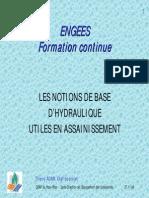 Reseaux hydraulique