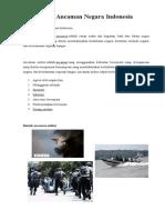 Ancaman militer dan nonmiliter di indonesia.doc