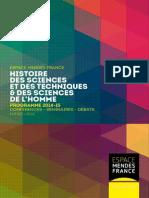 Programme histoire des sciences 2014-2015