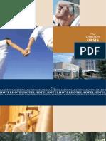 Carlton Oasis Hotel brochure particulier