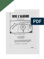 "Algerie libre vivra ( manifeste des ""berbéristes"" de 1949)"