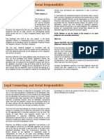Legal Counseling and Social Responsibility (Legal Ethics)